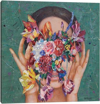 Floral Mind #16 Canvas Art Print