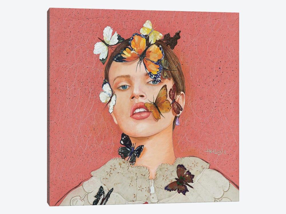Butterfly #1 by Minas Halaj 1-piece Canvas Artwork