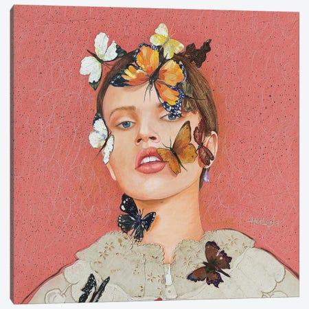 Butterfly #1 Canvas Print #MIH2} by Minas Halaj Canvas Art Print
