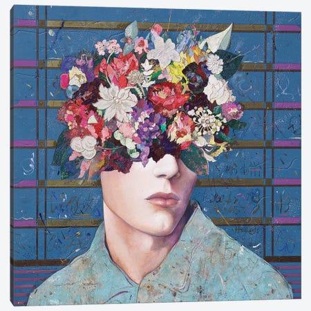 Floral Mind #26 Canvas Print #MIH30} by Minas Halaj Canvas Print