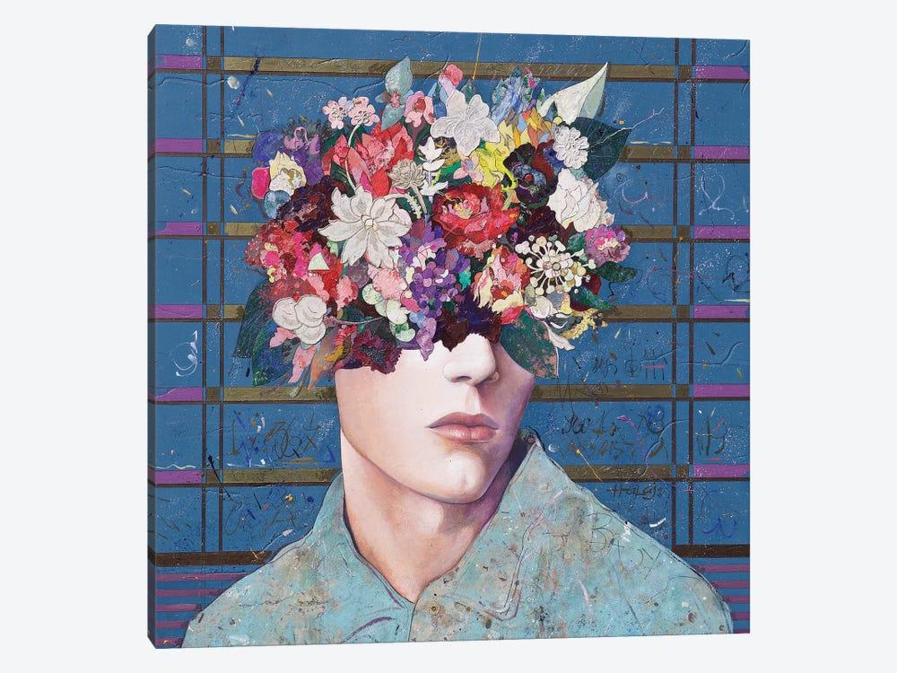 Floral Mind #26 by Minas Halaj 1-piece Canvas Wall Art