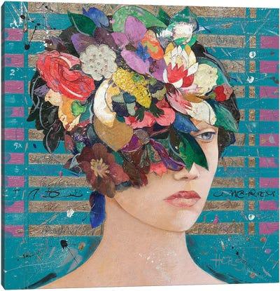Floral Mind #20 Canvas Art Print