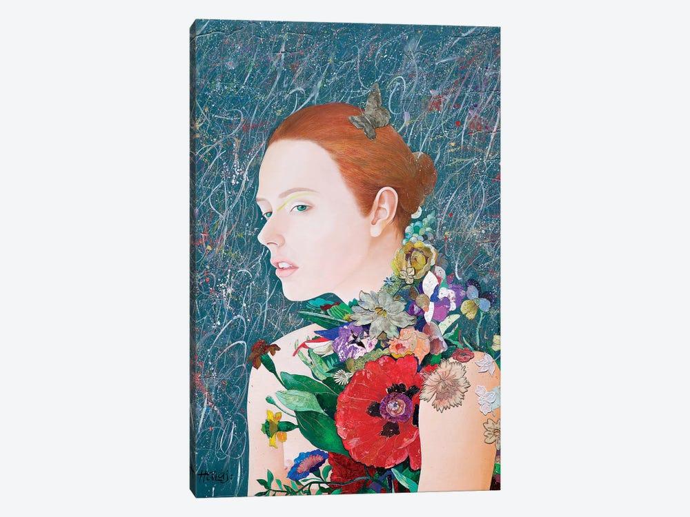 Floral Mind # 46 by Minas Halaj 1-piece Canvas Artwork