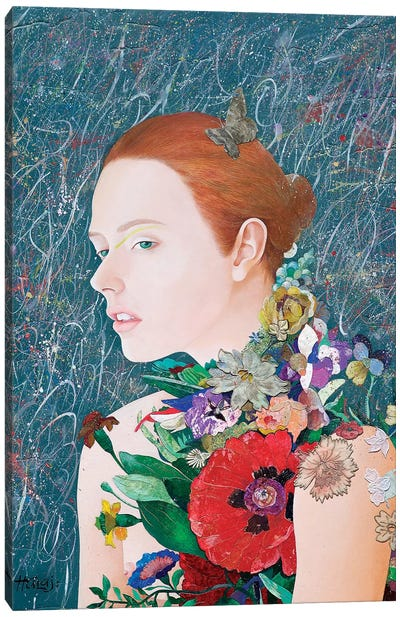 Floral Mind # 46 Canvas Art Print