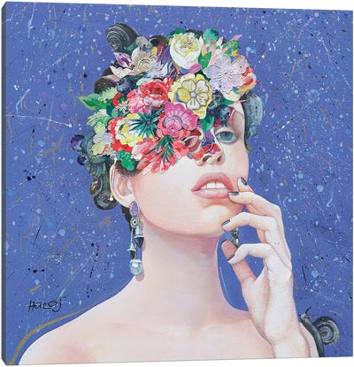 Floral Mind #36 Canvas Art Print