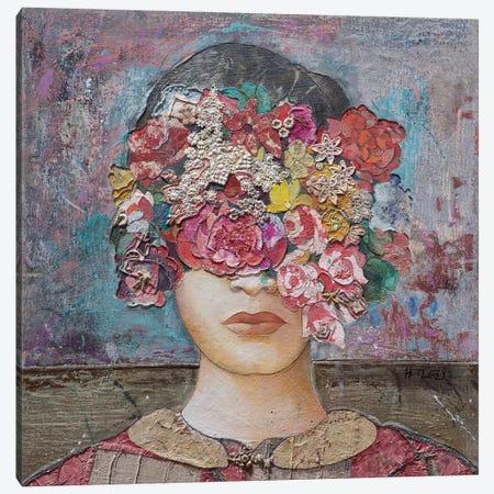 Floral Mind #2 Canvas Print #MIH5} by Minas Halaj Canvas Wall Art