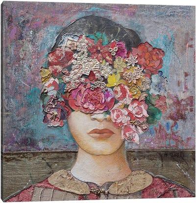 Floral Mind #2 Canvas Art Print