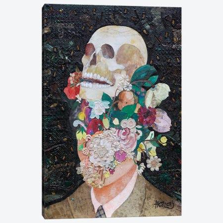 Floral Mind #14 Canvas Print #MIH7} by Minas Halaj Canvas Art