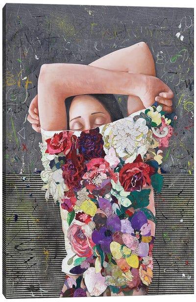 Floral Mind #25 Canvas Art Print