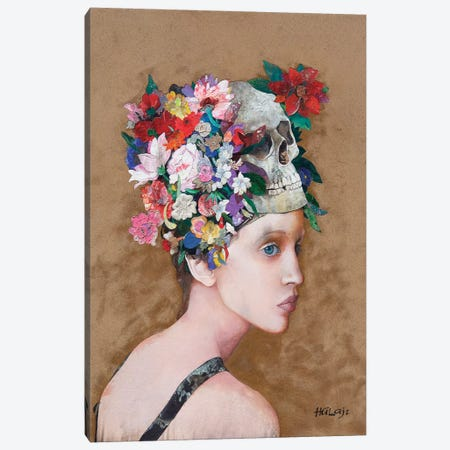 Floral Mind #38 Canvas Print #MIH9} by Minas Halaj Canvas Art Print
