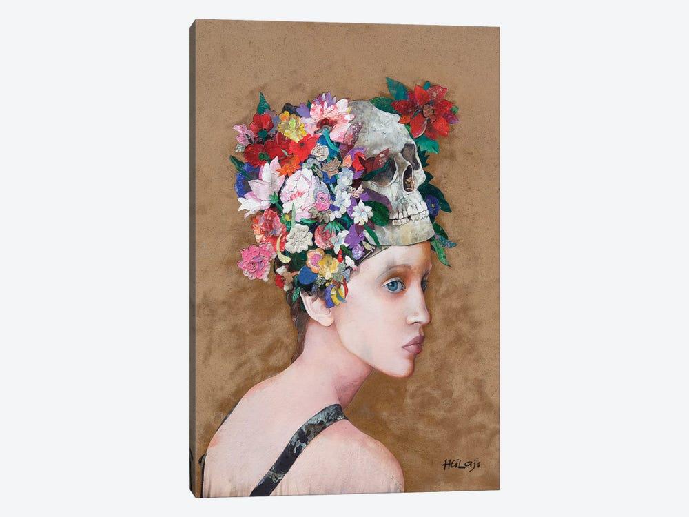 Floral Mind #38 by Minas Halaj 1-piece Canvas Art Print