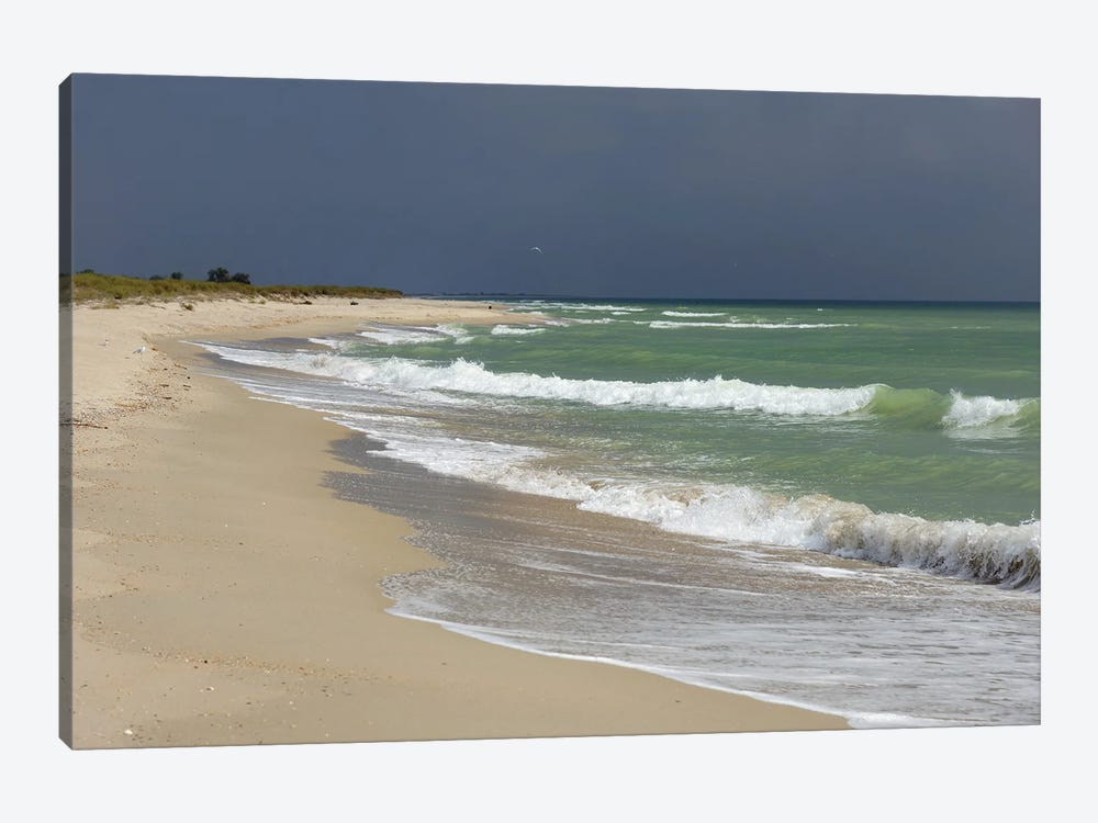 Deserted Coast Of The Black Sea III by Mike Kiev 1-piece Canvas Print