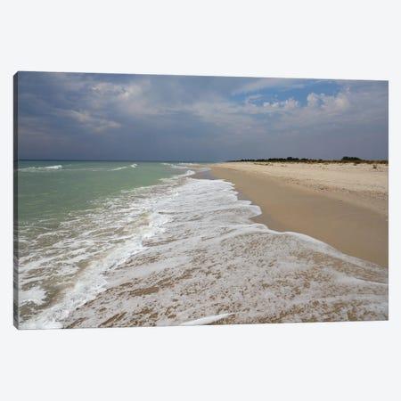 Deserted Coast Of The Black Sea II Canvas Print #MII108} by Mike Kiev Canvas Art Print