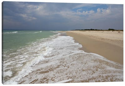 Deserted Coast Of The Black Sea II Canvas Art Print