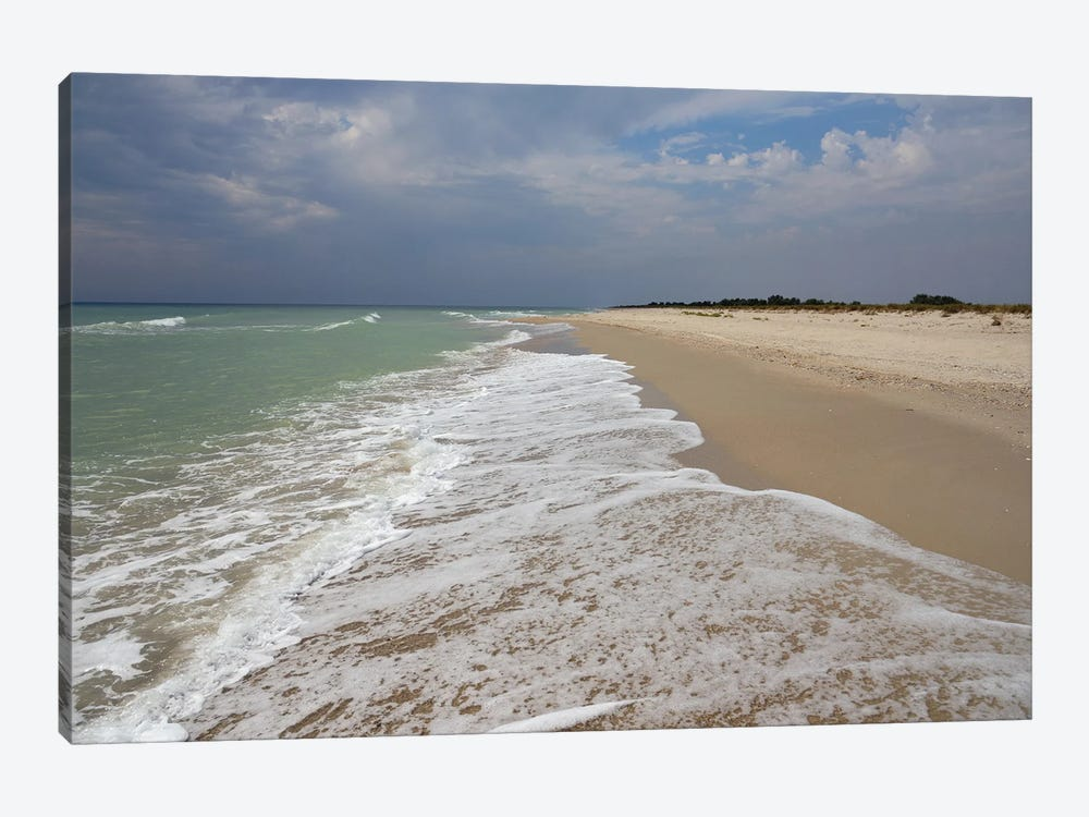 Deserted Coast Of The Black Sea II by Mike Kiev 1-piece Canvas Print