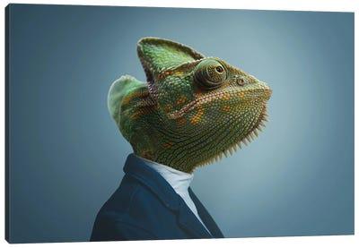 Chameleon Man Canvas Art Print