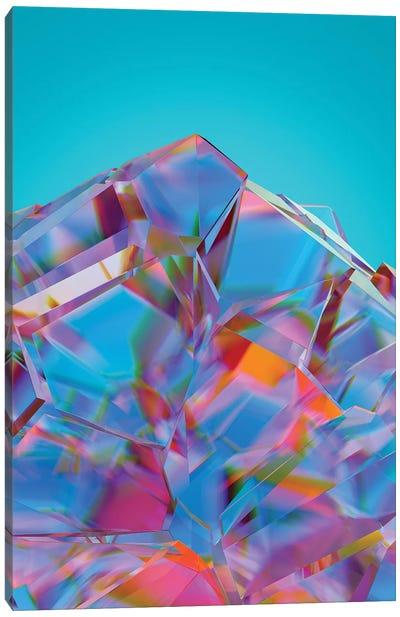 Broken Crystal Canvas Art Print