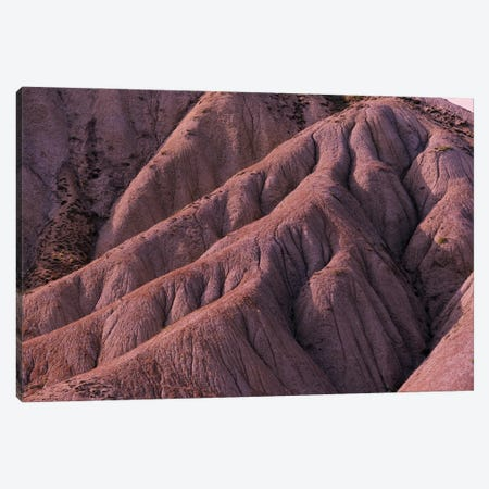 Red Eroded Mountainside 3-Piece Canvas #MII72} by Mike Kiev Canvas Art