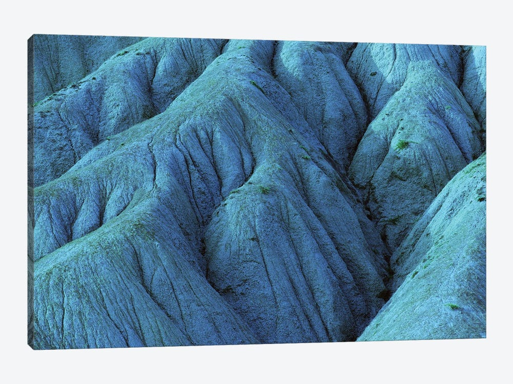 Blue Eroded Mountainside by Mike Kiev 1-piece Canvas Wall Art