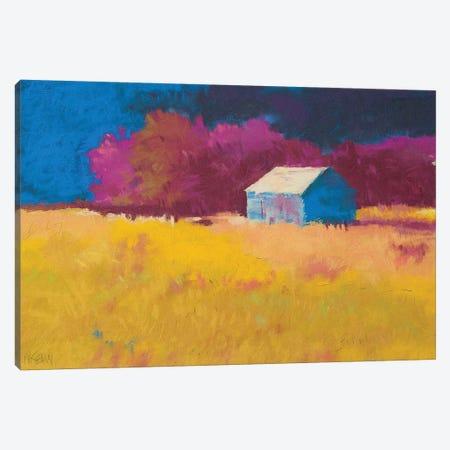 Early Fall Near Roanoke Canvas Print #MIK2} by Mike Kelly Canvas Art