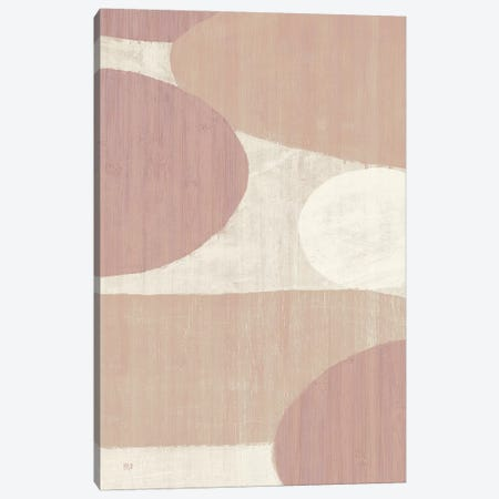 Costa del Sol I Blush Canvas Print #MIM10} by Michael Mullan Canvas Artwork