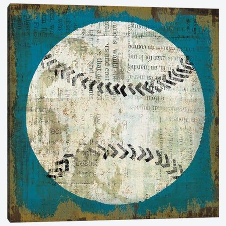 Ball I on Blue Canvas Print #MIM15} by Michael Mullan Art Print
