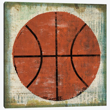 Ball II on Ivory 3-Piece Canvas #MIM16} by Michael Mullan Canvas Print