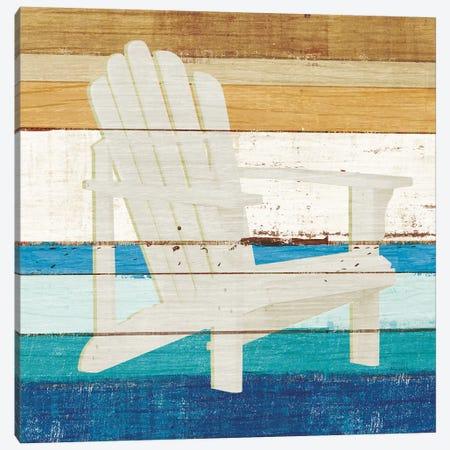 Beachscape IV Canvas Print #MIM1} by Michael Mullan Canvas Wall Art
