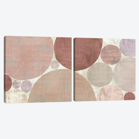 Circulation Diptych Canvas Print Set #MIM2HSET001} by Michael Mullan Art Print