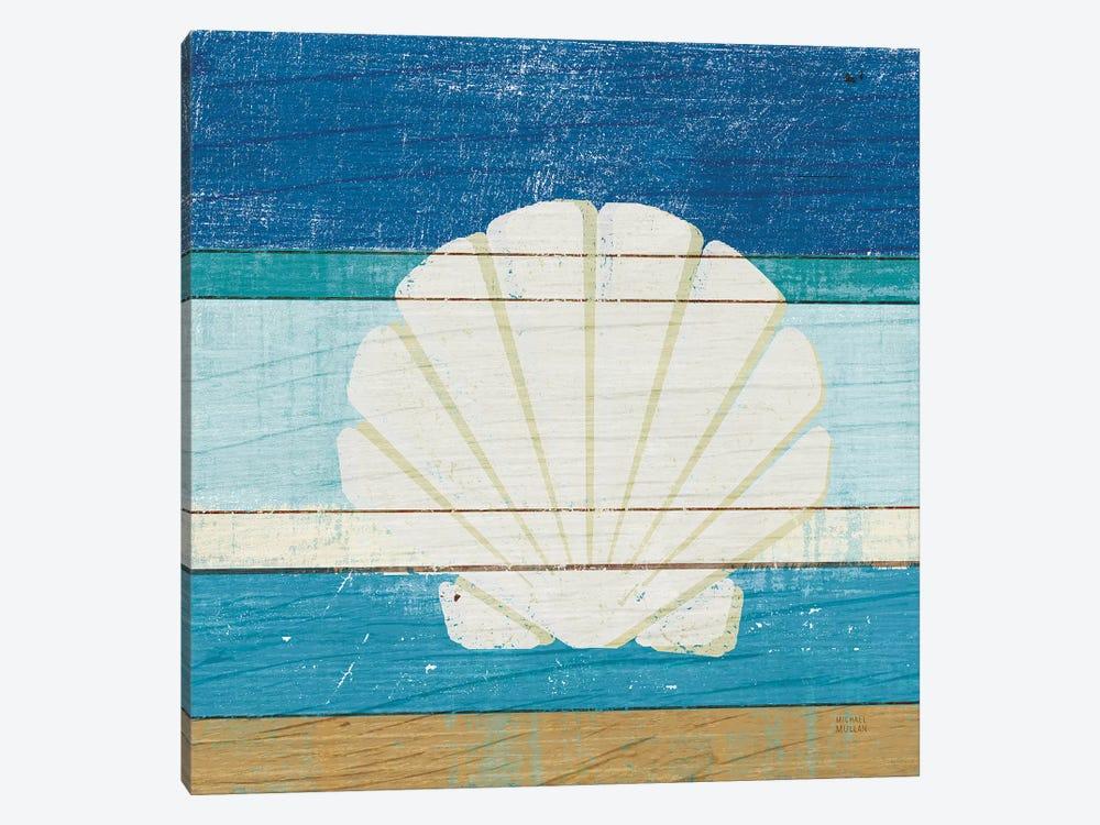 Beachscape Shell by Michael Mullan 1-piece Canvas Art