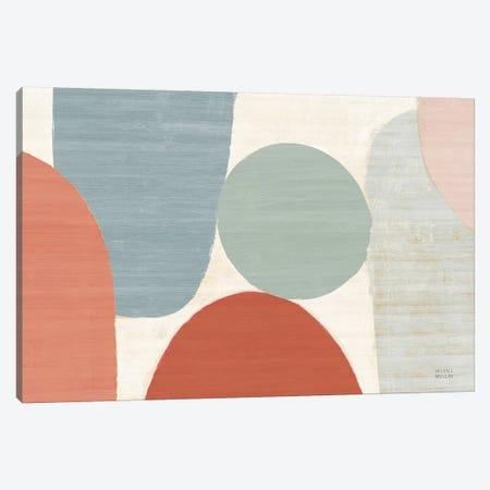 Spring Costa Del Sol II Muted Crop Canvas Print #MIM52} by Michael Mullan Canvas Artwork