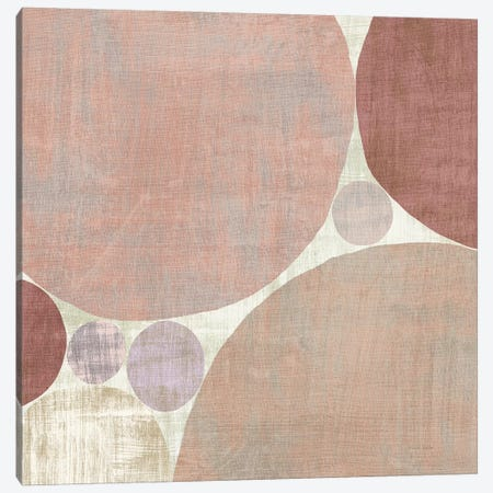 Circulation I v2 Blush Canvas Print #MIM8} by Michael Mullan Canvas Artwork
