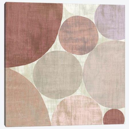 Circulation II v2 Blush Canvas Print #MIM9} by Michael Mullan Canvas Wall Art