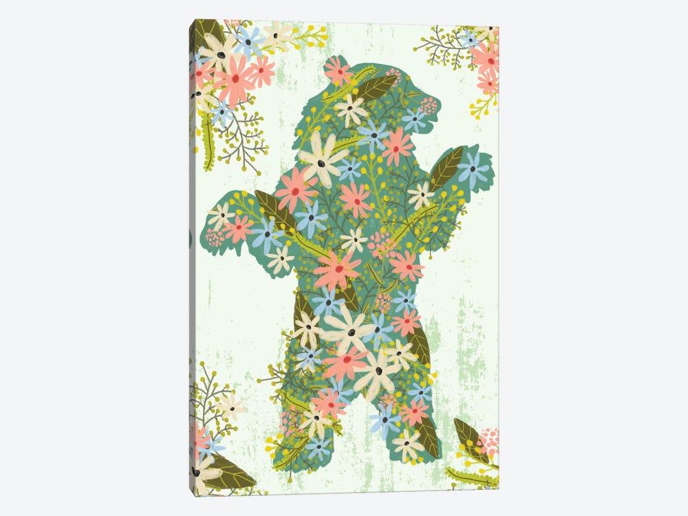 Bear by Mia Charro 1-piece Canvas Print