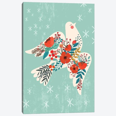 Dove Peace Canvas Print #MIO102} by Mia Charro Canvas Art Print