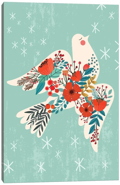 Dove Peace Canvas Art Print
