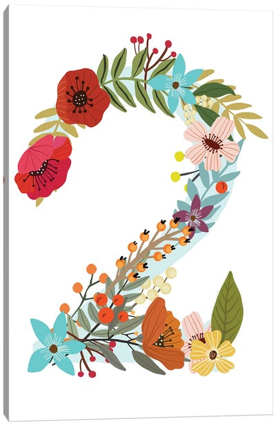 Floral Two Canvas Art Print