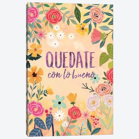 Quedate Canvas Print #MIO116} by Mia Charro Canvas Art Print