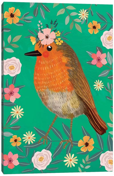 Robin Canvas Art Print