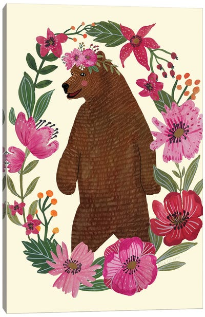 Bear Canvas Art Print