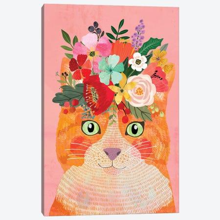 Cat Mystic Canvas Print #MIO126} by Mia Charro Canvas Artwork