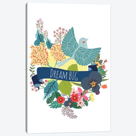 Dream Big Canvas Print #MIO12} by Mia Charro Canvas Artwork