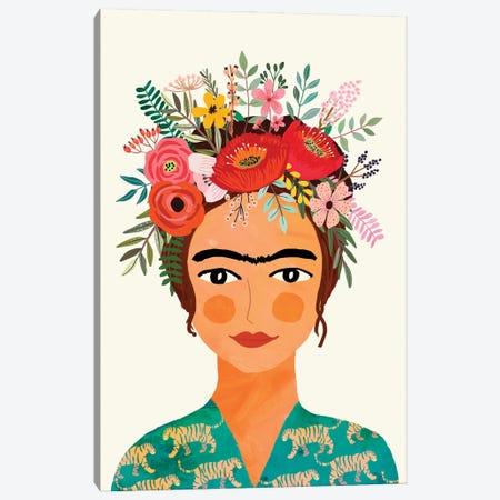 Frida Canvas Print #MIO130} by Mia Charro Canvas Wall Art