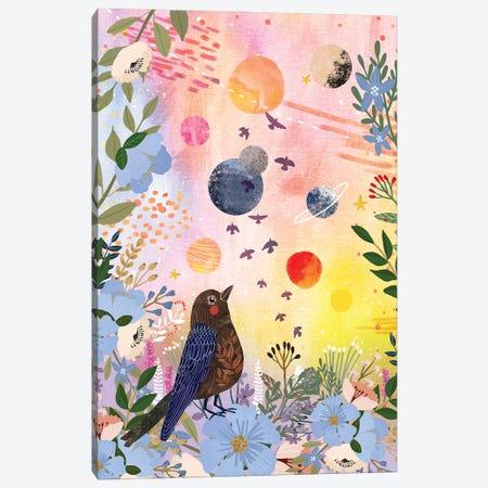 Garden Night Canvas Print #MIO131} by Mia Charro Canvas Art