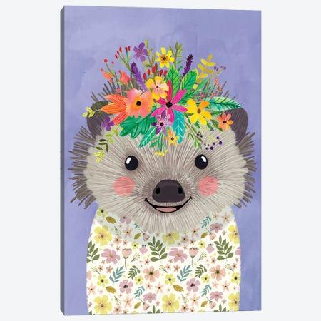 Hedgehog Canvas Print #MIO132} by Mia Charro Canvas Artwork