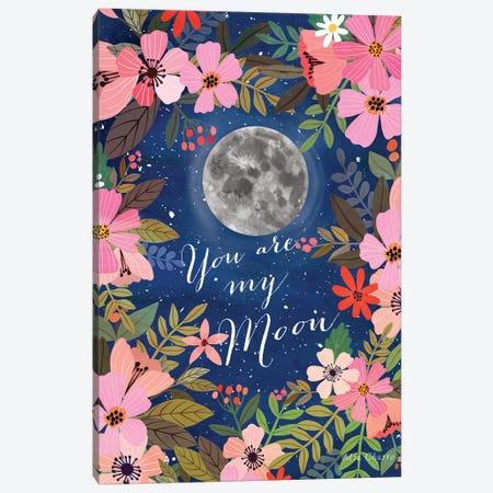 My Moon Canvas Print #MIO136} by Mia Charro Canvas Print