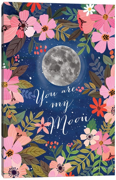 My Moon Canvas Art Print