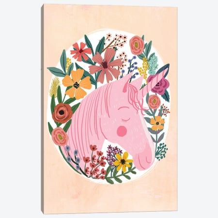 Pink Horse II Canvas Print #MIO139} by Mia Charro Canvas Artwork