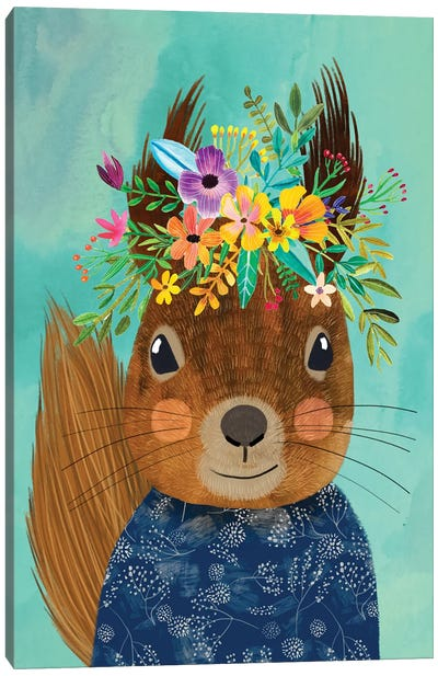 Squirrell Canvas Art Print