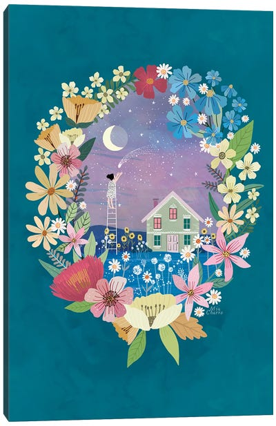 Summer Night Canvas Art Print